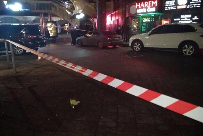 Взрыв около ночного клуба вцентре украинской столицы