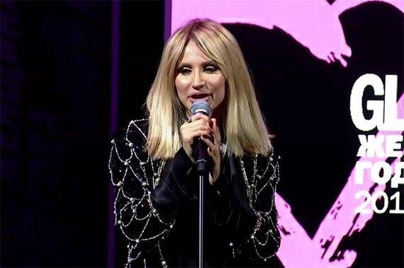Светлана Лобода награждена титулом «Женщина года» отGlamour
