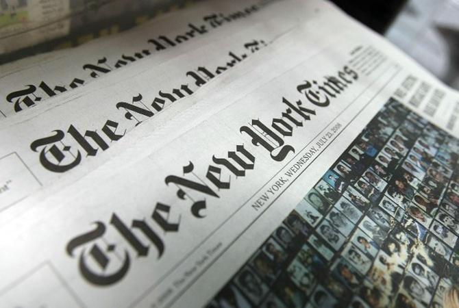 New York Times несобирается поправлять обеспокоившую Киев статью про Крым