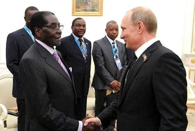 СМИ проинформировали, что президент Зимбабве убежал изстраны после военного перелома