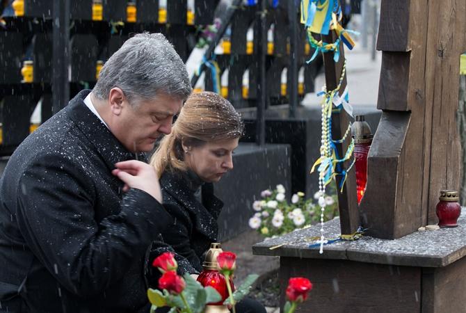 Порошенко: украинские власти выполнили одно из главных требований «майдана»