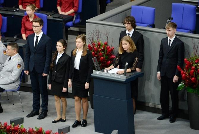 ФСБ заподозрила «украинский след» ввыступлении школьника вбундестаге