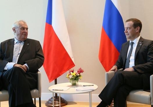 Президент Чехии прибыл вЕкатеринбург срабочим визитом