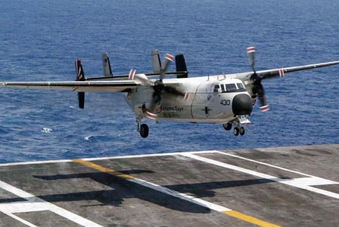 Военный самолет США упал вФилиппинское море, погибло трое моряков