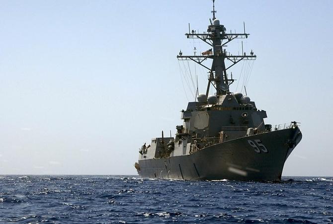 Американский эсминец увидели впорту Одессы