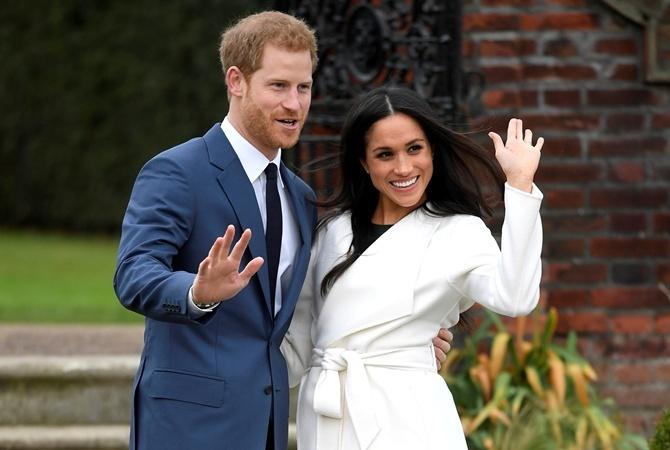 Принц Гарри иМеган Маркл совершили первое царское обязательство встатусе пары
