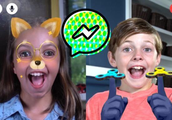 Мессенджер для детей выпустила фейсбук