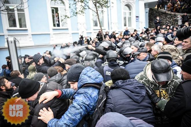 Князев: После потасовки приверженцев Саакашвили сполицией никто непострадал
