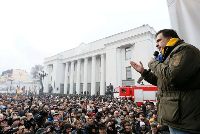 Прокуратура Украины попросит надеть наСаакашвили электронный браслет
