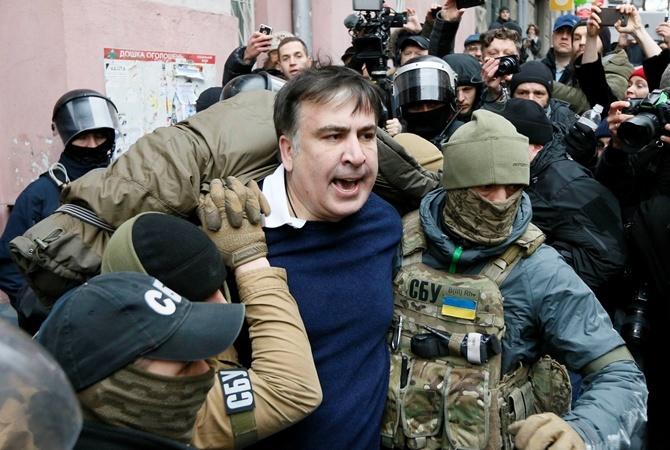 Саакашвили отказался идти надопрос поделу огосперевороте вгосударстве Украина
