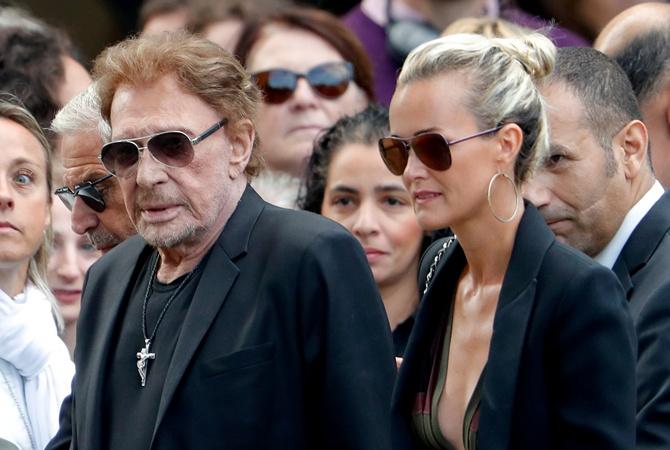 Скончался французский рок-музыкант Джонни Холлидей