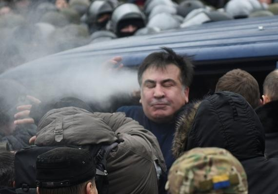 Саакашвили подал наЛуценко иГрицака вНАБУ