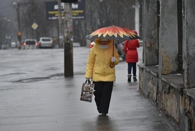 Больше 5см.На выходные Киев засыпет снегом