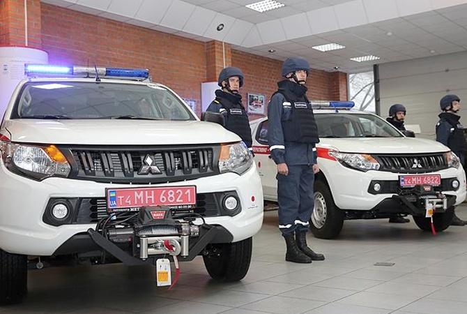 Япония сообщила ГСЧС Украины спецтехнику для разминирования
