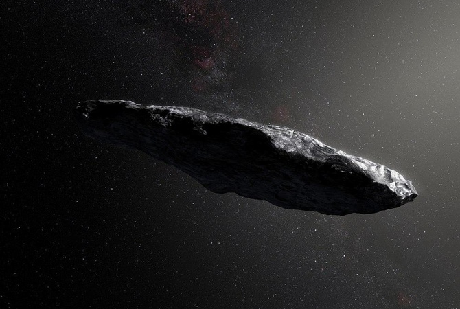 Ученые изсоедененных штатов : астероид Оумуамуа может быть кораблем пришельцев