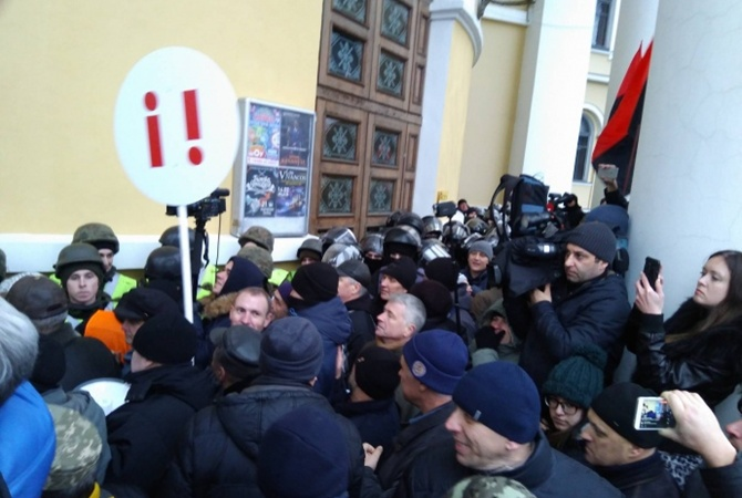 Впроцессе столкновений вКиеве пострадали 32 правоохранителя