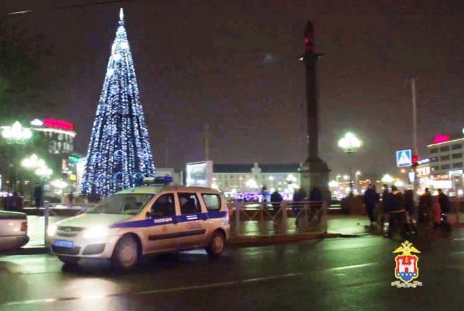 Гражданин Калининграда поджег главную елку города, чтобы привлечь ксебе внимание
