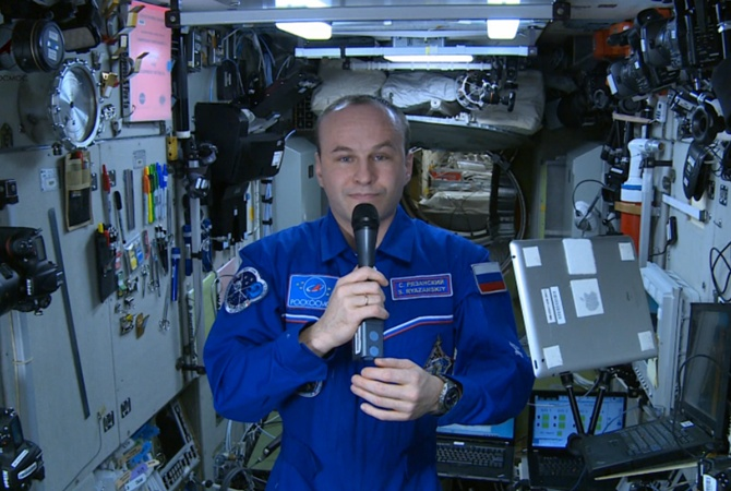 Русский космонавт сказал, чем пахнет открытый космос