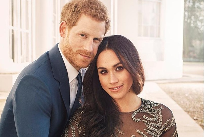 Принц Гарри иего невеста показали красивые кадры послучаю ихпомолвки