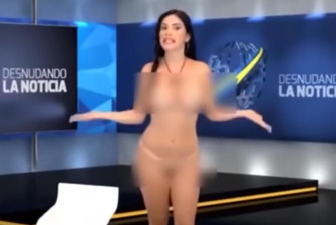 відео новини з голими телеведучим онлайн