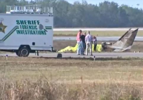ВСША рухнул двухмоторный самолет, необошлось без жертв