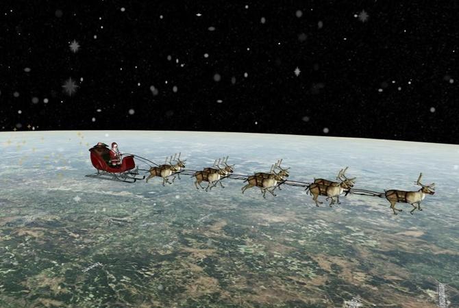 Санта уже в РФ — Военное командование США