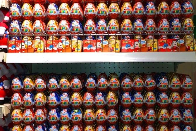 Киевлянка украла изльвовского супермаркета 220 «киндер-сюрпризов»