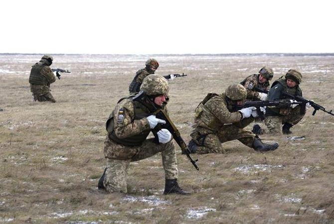 Боевики наДонбассе начали новый год сминометных обстрелов