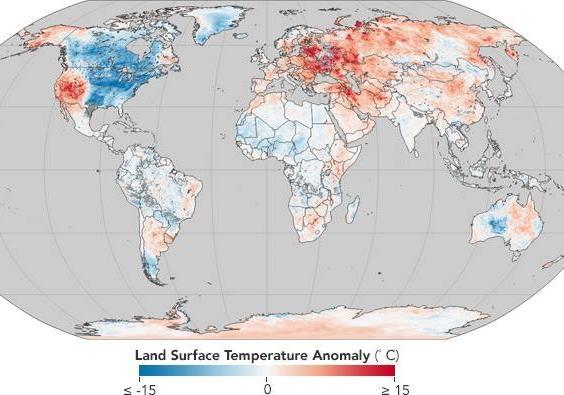 Украина угодила  ваномальную зону неестественно теплой зимы вевропейских странах  - возникла  карта