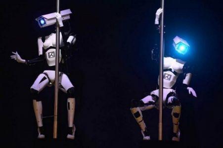 Роботы исполнят эротический танец навыставке вЛас-Вегасе