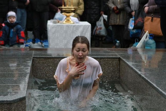 Крещение Господне изоражения