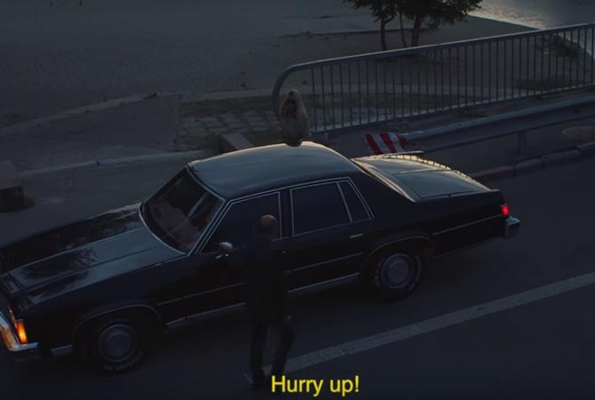 Британская эстрадная певица Джорджа Смит сняла клип вКиеве