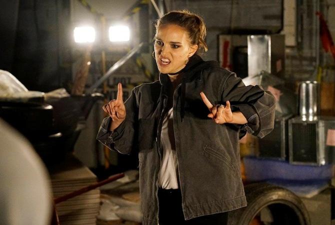 Натали Портман снова зачитала рэп: забавное видео