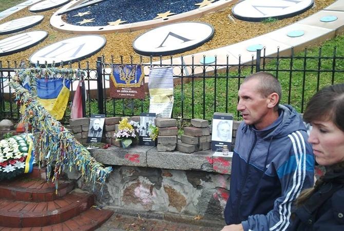 Националисты похвастались жестоким избиением погромщика Мемориала Небесной сотни