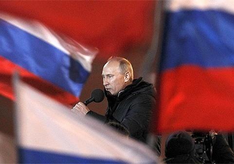 СМИ проинформировали опланах В. Путина проголосовать 18марта вКрыму