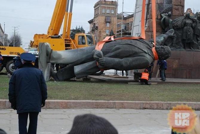 Вятрович рассказал озавершении декоммунизации вУкраине