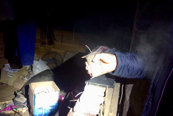 В Киевской области у «фермера» изъяли взрывчатку и запасы конопли