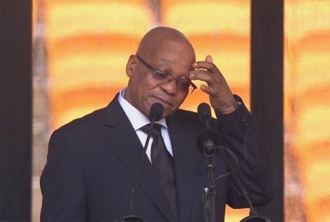 Президента Джейкоба Зуму вынуждают уйти вотставку— ЮАР