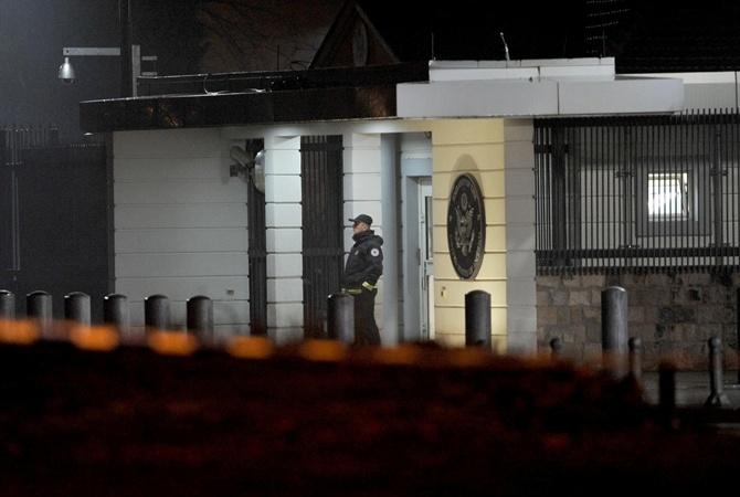 Взрыв прогремел впосольстве США вЧерногории