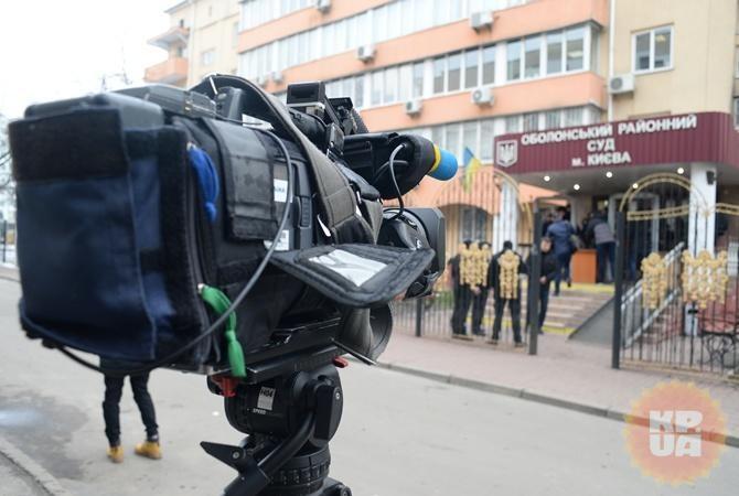 Вполиции прокомментировали скандал вокруг «раздевания» журналисток всуде Киева