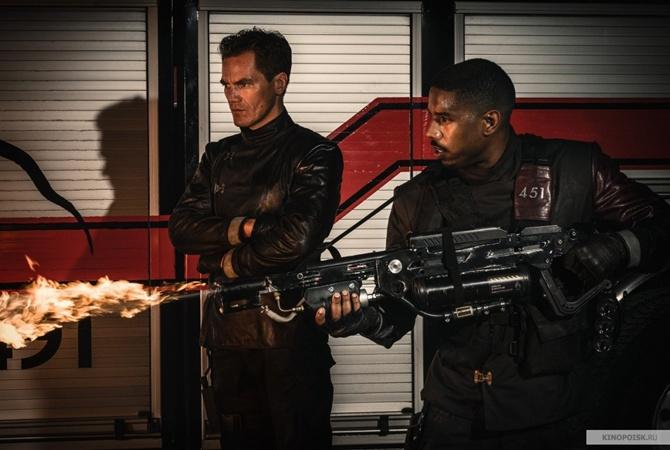 Вweb-сети интернет появился 1-ый полноценный трейлер фильма «451 градус пофаренгейту»