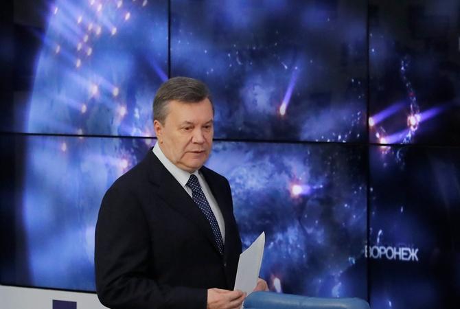 Янукович сказал, когда попросит В. Путина овстрече