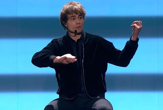 (ФОТО) Норвежский певец белорусского происхождения Александр Рыбак (Alexander Rybak) выиграл...