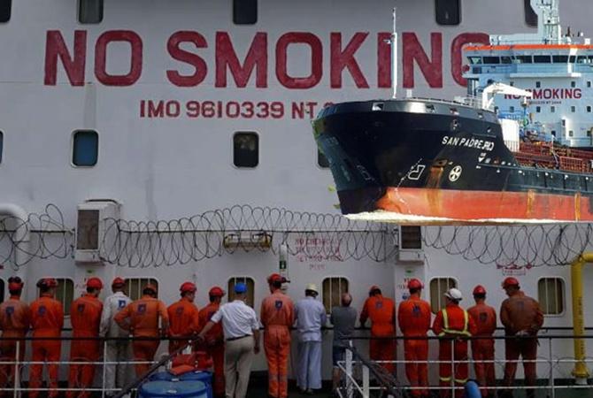 ВНигерии за реализацию топлива арестовали судно с16 украинцами