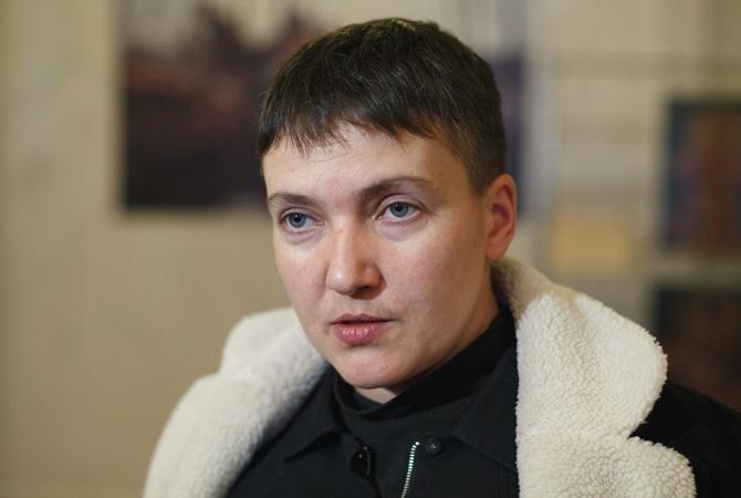 СБУ: Повестки Савченко о опросе  переданы ваппарат Верховной Рады