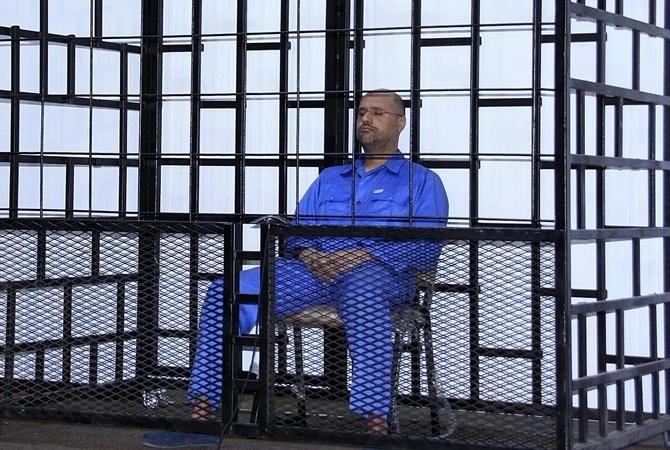 Старший сын Муаммара Каддафи выдвинул кандидатуру напост президента Ливии