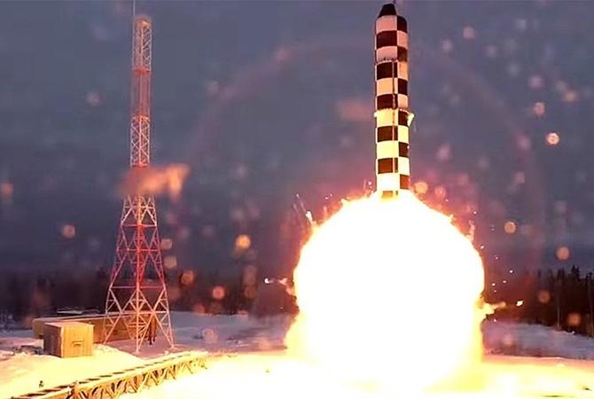Накосмодроме Плесецк прошли вторые тестирования ракеты «Сармат»