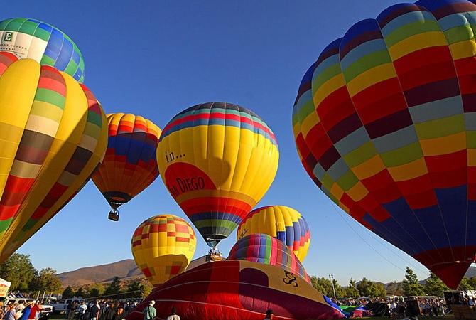 ВАвстралии разбился воздушный шар с20 пассажирами