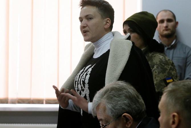«Пьёт только воду». УНадежды Савченко началась кровавая тошнота