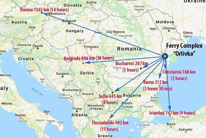 Румыния согласовала открытие пункта пропуска с Украинским государством